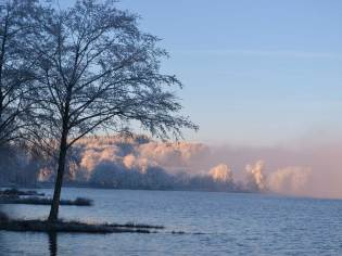 Givre - Les abords du lac du Rousset - La Table d'Hortense