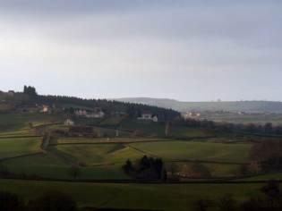 Vue sur le bourg du Rousset - Eliane NENANT