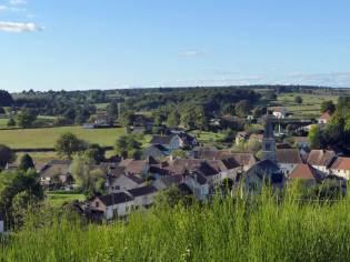Le bourg de Marizy