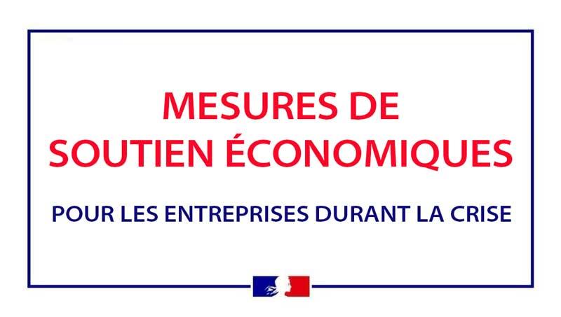Bannière soutien économique pour les entreprises