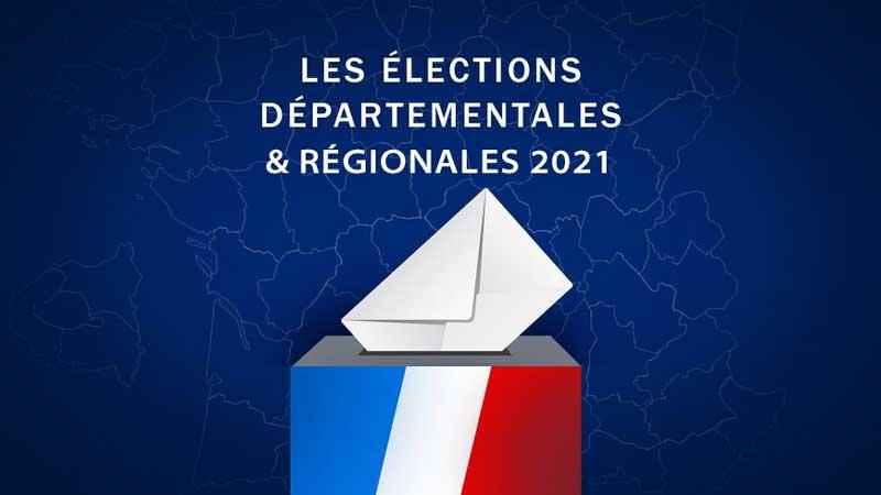 Illustration vote, élections départementales et régionales 2021