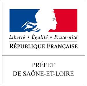 Logo du Préfet de Saône-et-Loire