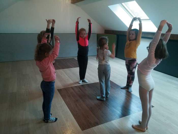 Photographie de l'atelier danse, de l'école de musique de Le Rousset-Marizy