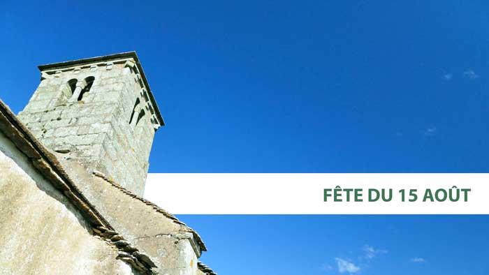 Bannière fête du 15 août, Les amis de la chapelle de saint-Quentin