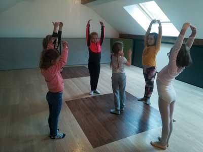 Photographie : groupe de danse