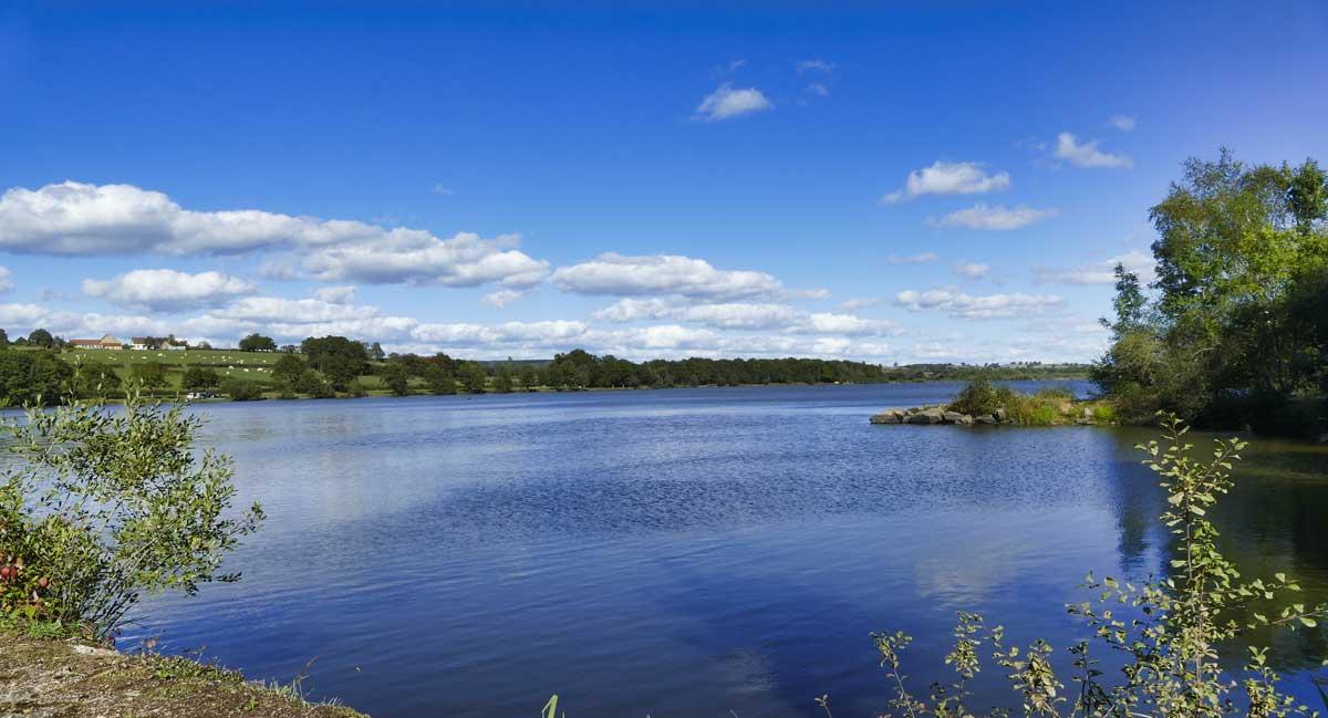 Photographie du lac du Rousset