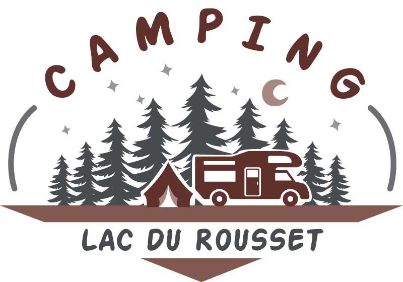 Logo du camping du lac du Rousset