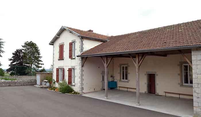 École primaire de Le Rousset à Le Rousset-Marizy