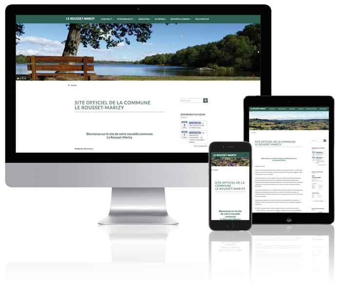 Illustration site responsive