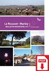 Bulletin Municipale Le Rousset-Marizy numéro 5