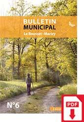 Bulletin Municipale Le Rousset-Marizy numéro 6
