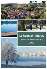 Bulletin Municipale Le Rousset-Marizy 2017