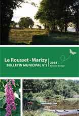 Bulletin Municipale Le Rousset-Marizy 2018