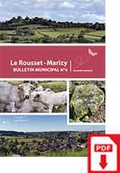 Bulletin Municipale Le Rousset-Marizy numéro 4