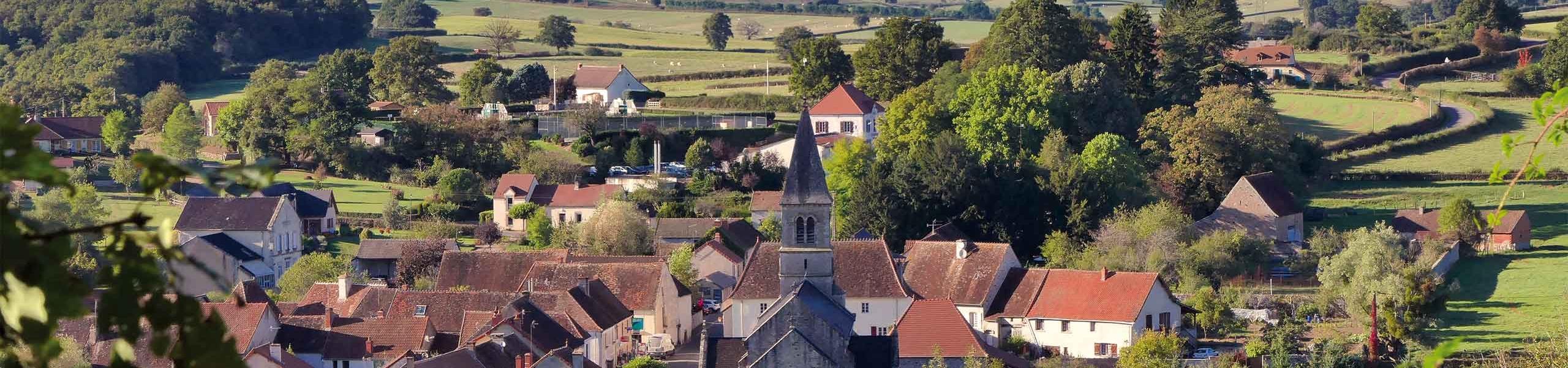 Bourg de Marizy - Le Rousset-Marizy